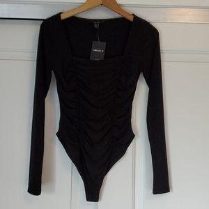 NWT...Forever 21 black bodysuit!